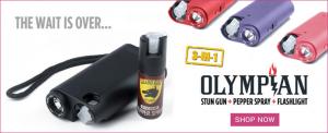 Olympian Stun Guns - Identify - Spray - Stun / Self Defense Products For Women
