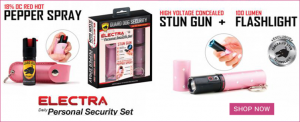 Persona Security Kit / Self Defense Products For Women