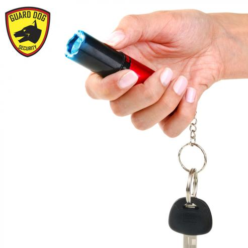 Lipstick Keychain Concealed Stun Gun Red Self Defense Products