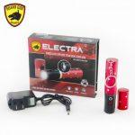 Concealed, lipstick keychain stun gun w/ 100 lumen flashlight