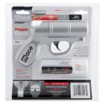 The Mace® Pepper Gun is the most accurate non-lethal self defense Pepper Spray available.