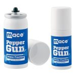 Mace® Pepper Gun Refill – Water Practice Spray for Pepper Gun