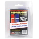 Mace Pepper Gun Refill – 1 OC Refill 1 Water Training Refill