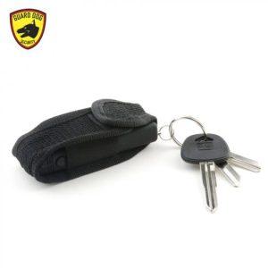 Rechargeable, compact, keychain stun gun w/ LED light