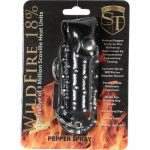 WildFire Pepper Spray And Rhinestone Leatherette Holster – Black