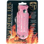 WildFire Pepper Spray And Rhinestone Leatherette Holster – Pink