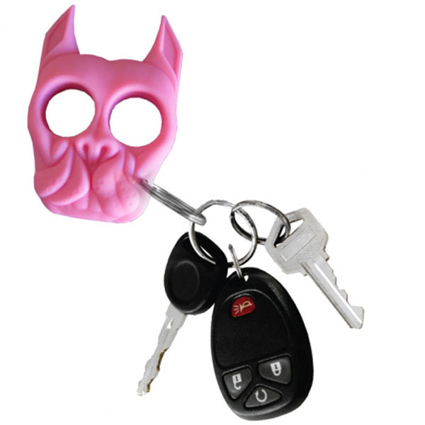 Brutus Bulldog Self Defense Keychain Pink Self Defense Products
