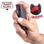 Guard Dog Door Stopper With 120 Db Alarm And Accufire Pepper Spray