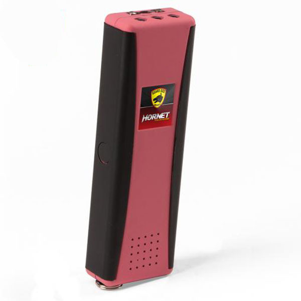 Hornet II Rechargeable Keychain Stun Gun, LED Light and Alarm