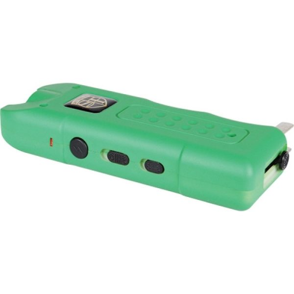 20,000,000 volt MultiGuard Stun Gun Alarm and Flashlight with Built in Charger
