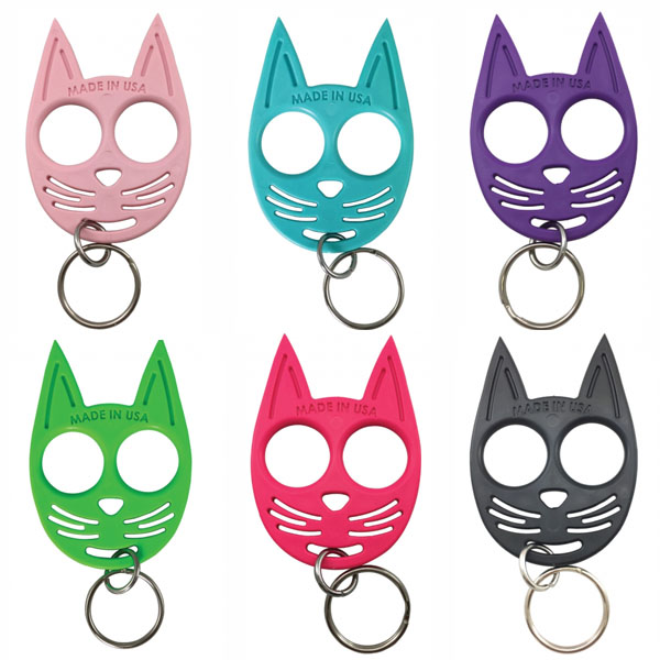 My Kitty Self Defense Keychain Pink Self Defense Products For Women