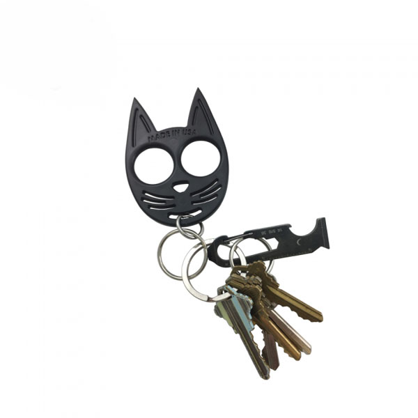My Kitty Self Defense Keychain Black Self Defense Products For Women