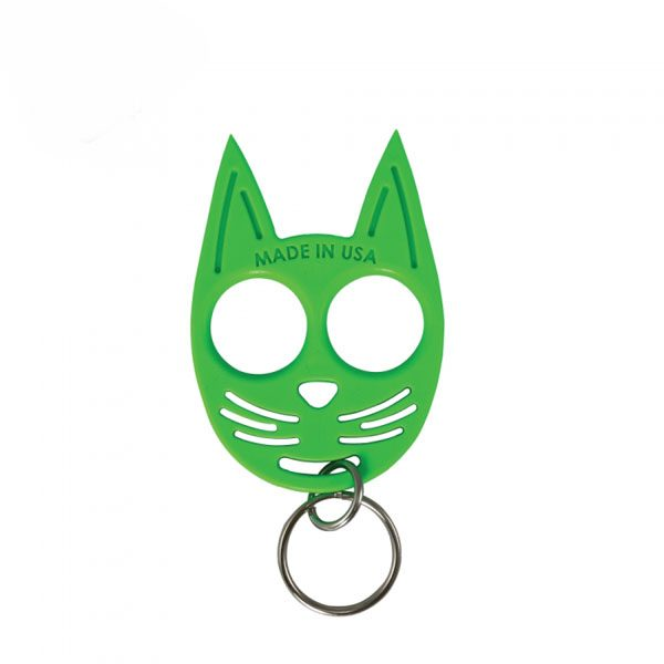 kitty_self_defense_keychain_green1