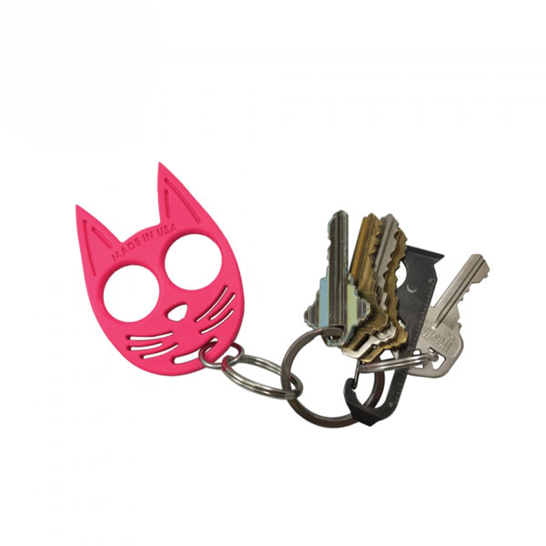 My Kitty Self Defense Keychain Hot Pink Self Defense Products