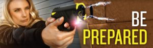 Be prepared for the unexpected with a Taser Pulse or Taser Bolt!
